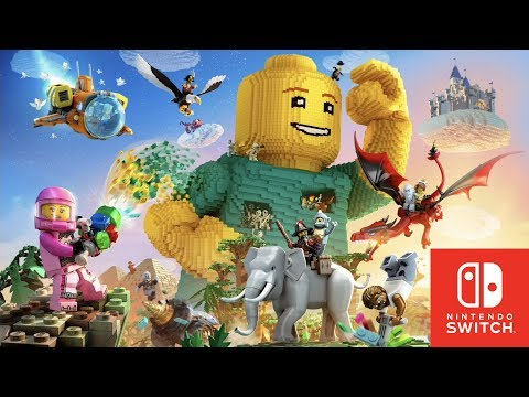Lego Worlds Nintendo Switch First 40 Minutes of Gameplay
