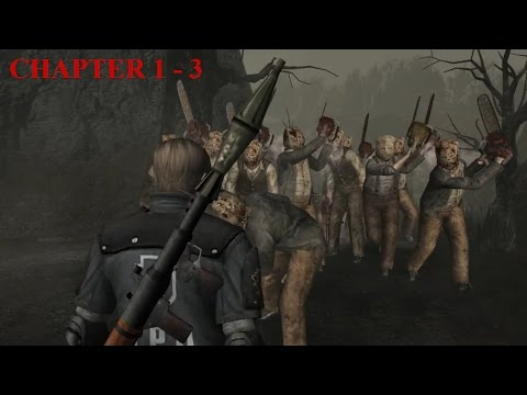 Resident Evil 4 - Story (Welcome To Hell) Mode - Chapter 1-3 (New Game - Professional) HQ