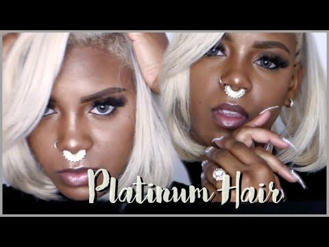 HOW I GOT MY HAIR TO PLATINUM BLOND VERY DETAILED TUTORIAL