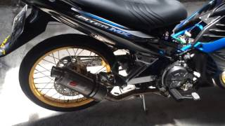 Jupiter mx new bore up 160cc with rorat racing team kudus