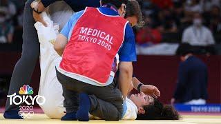 Chizuru Arai CHOKES OUT opponent to advance to judo final | Tokyo Olympics | NBC Sports
