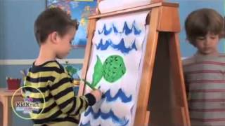 Children's Wooden Easels For Drawing And Painting Crafting