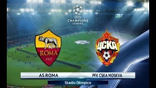 Download Video Roma vs CSKA Moscow | UEFA Champions League 2018 | PES 2018 HD MP3 3GP MP4
