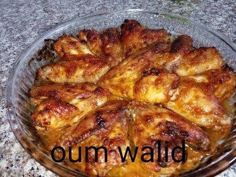 مطبخ-ام-وليد-اجنحة-الدجاج-المحمرة-في-الفرن
