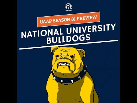 UAAP Season 81 Preview: NU Bulldogs