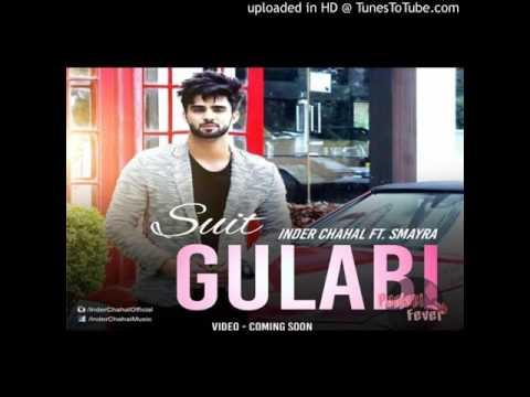 Suit Gulabi - Inder Chahal