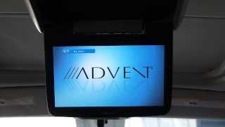 "Advent EXL10 10"" Overhead DVD Player: DVD Playback"