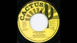 MILTON HENRY - Gypsy Woman