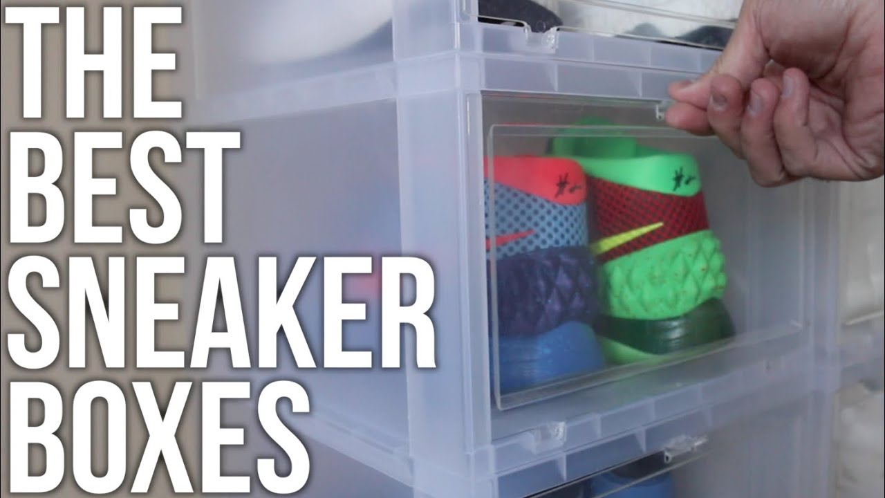Best Storage For Sneakers Where To Buy Flip Down Boxes Youtube