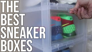 Best Storage For Sneakers | Where To Buy Flip Down Boxes