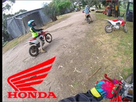 Dirt bikes/Huge crash