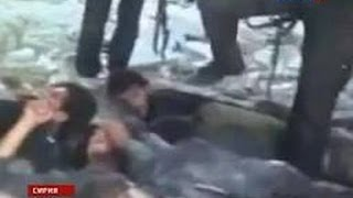 Сенсационное видео публичной казни в Сирии !