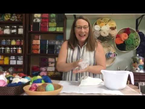 Quick and easy wet felted shaker eggs