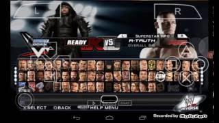 WWE 2k15 psp