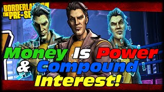 Borderlands The Pre-Sequel Handsome Jack Skills Early Preview Money Is Power & Compound Interest!