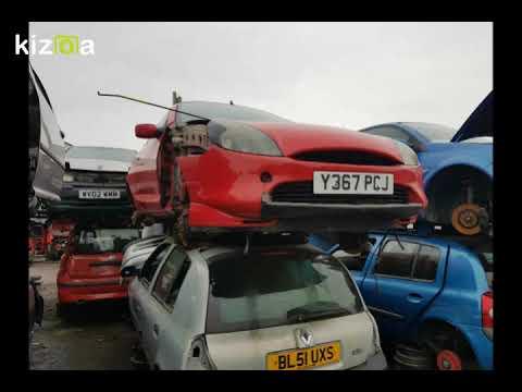 Ford Puma Scrap Yard Finds Uk 2017 Youtube