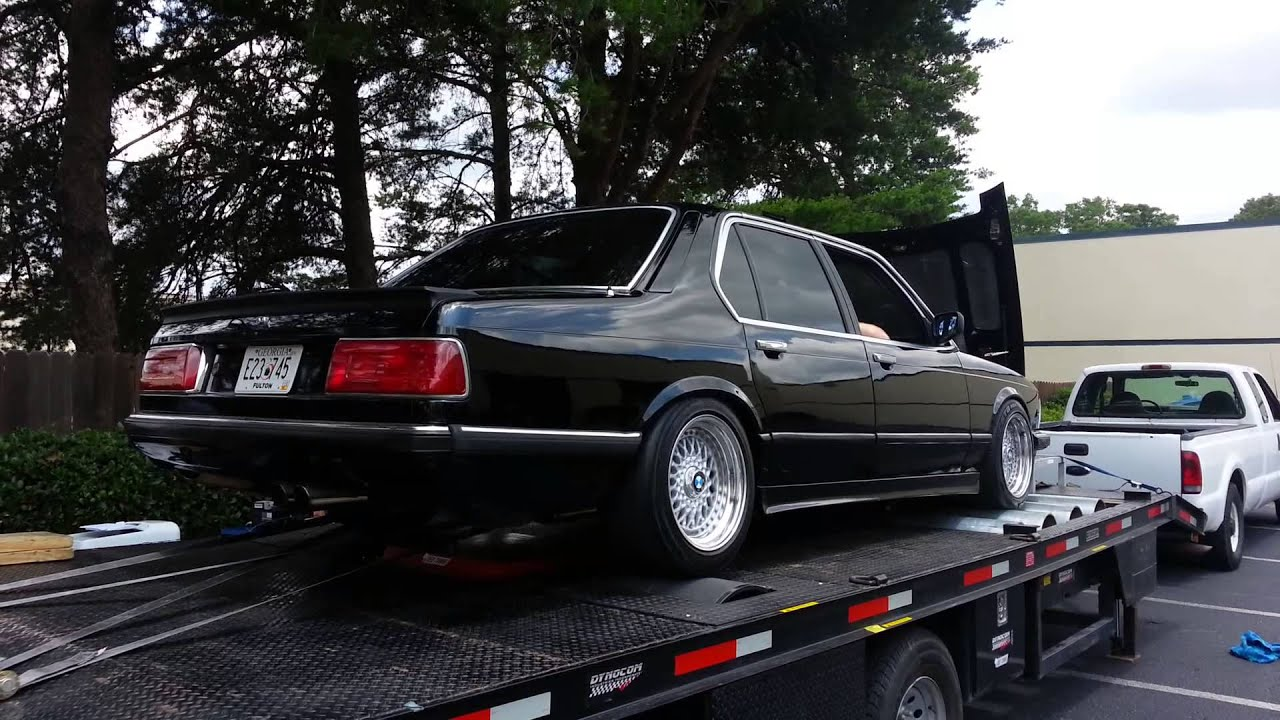 BMW 7 Series e23 1984 745i dyno  YouTube
