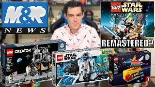 LEGO Star Wars REMASTERED Coming? LEGO Summer 2019 INFO! LEGO Ninjago Season 11 TRAILER! | LEGO NEWS
