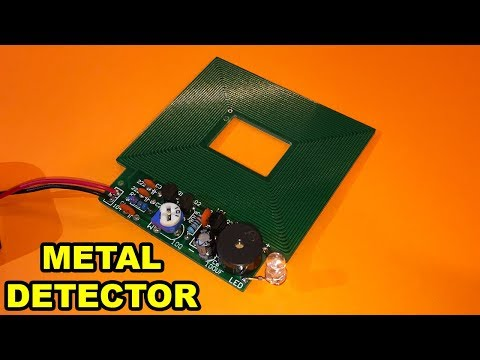 Metal Detector DIY [Electronic KIT Assembly] - By STE