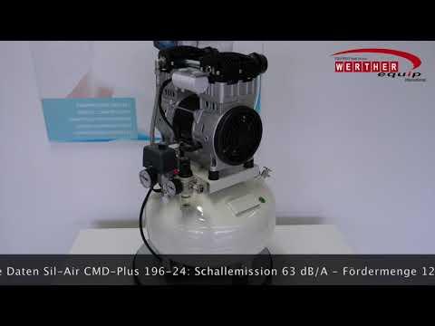 Sil-Air CMD-Plus 196-24 Dental Leiselaufkompressor