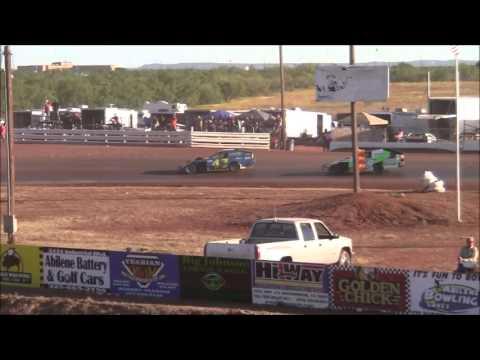 IMCA Modifieds at Abilene Speedway 10-18-15