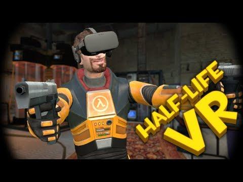 СКВОЗЬ БАГИ ► Half-Life 2 VR ( VRMod ) #2