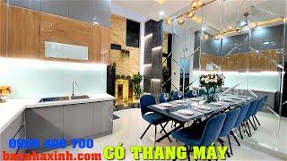 Bán Nhà phố siêu sang Sài Gòn,Đặc Biệt có THANG MÁY, Tặng Full Nội Thất và Thiết Bị cảm ứng cao cấp
