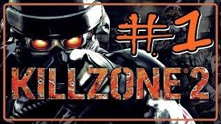"""KILLZONE 2 Detonado Parte 1 """" Rio Corinth"""" Legendado em Português"""