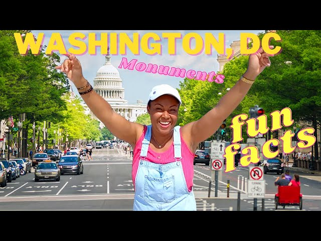 Fun Facts About Washington DC Monuments | Things To Do In Washington DC | This Bahamian Gyal