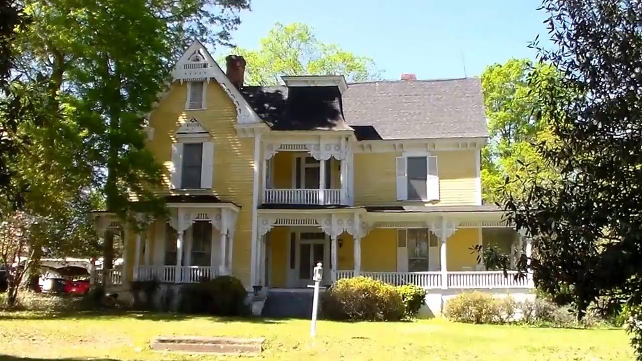 Victorian House For Sale Laurens South Carolina Youtube