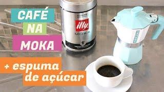 Como fazer café na MOKA - SEGREDO DO CAFÉ ITALIANO + Cremina de açúcar | Itália com amor ♡