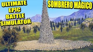 REX POWER Y LA MONTAÑA DE CHUCK NORRIS - ULTIMATE EPIC BATTLE SIMULATOR