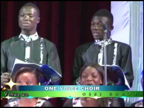 Hwehwe me mu and others - Performed by One Voice Choir - Gha