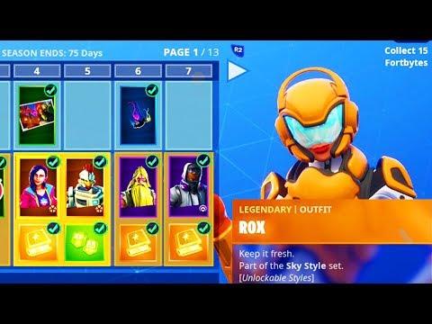 Season 9 Battle Pass All Tiers Unlocked Max Battle Pass Tier 100