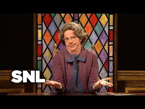 Church Chat: Kardashians, Snooki, and Bieber - Saturday Night Live
