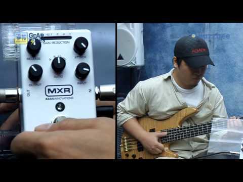 MXR 베이스이펙터 Bass Compressor M87