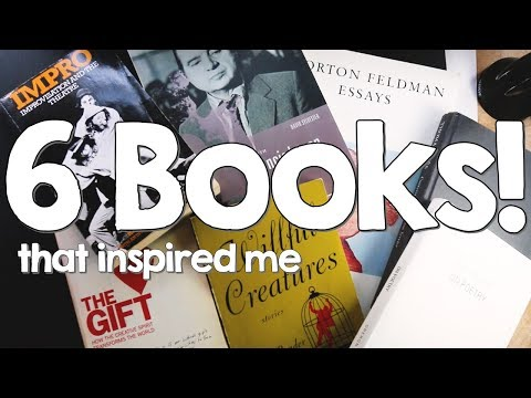 6 Books To Inspire Any Creative Artist