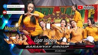 Mojang Karawang. Ligar Jaipong Baranyay Group Subang Terbaru. ( malaka studio HD )