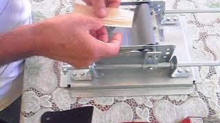 MAQUINA ENROLAR CIGARRO DE PALHA (vídeo 1)