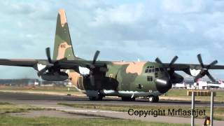 algeria air force c 130h hercules 7t whe heathrow flight departures plane spotting guide