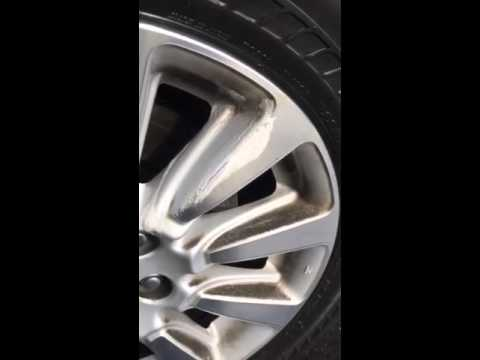 Clean Car Rims- 100% naturally with H2O at Home