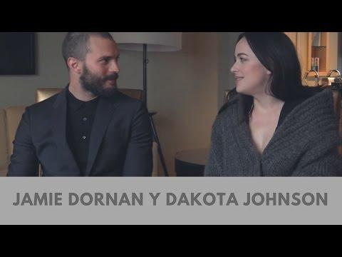 Tú sólo hiciste como tres lagartijas  Jamie Dornan y Dakota Johnson Subtitulado