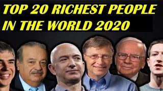 20 Richest People in the World 2019 | Richest Person Comparison |Most Powerful People