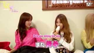 박지연 T-ARA-Jiyeon eating an ice cream 티아라