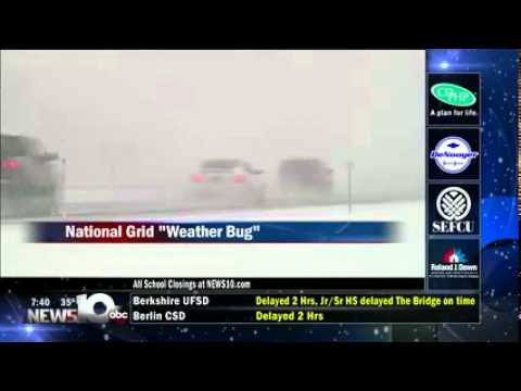 National Grid And WeatherBug Bring Live, Local Weather To Albany, NY