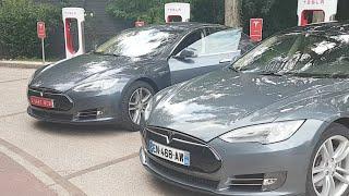 Tesla Model S60... Viaje 1800km. 2°día thumbnail