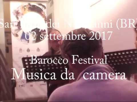 UBarocco festival 2017 Musica da camera