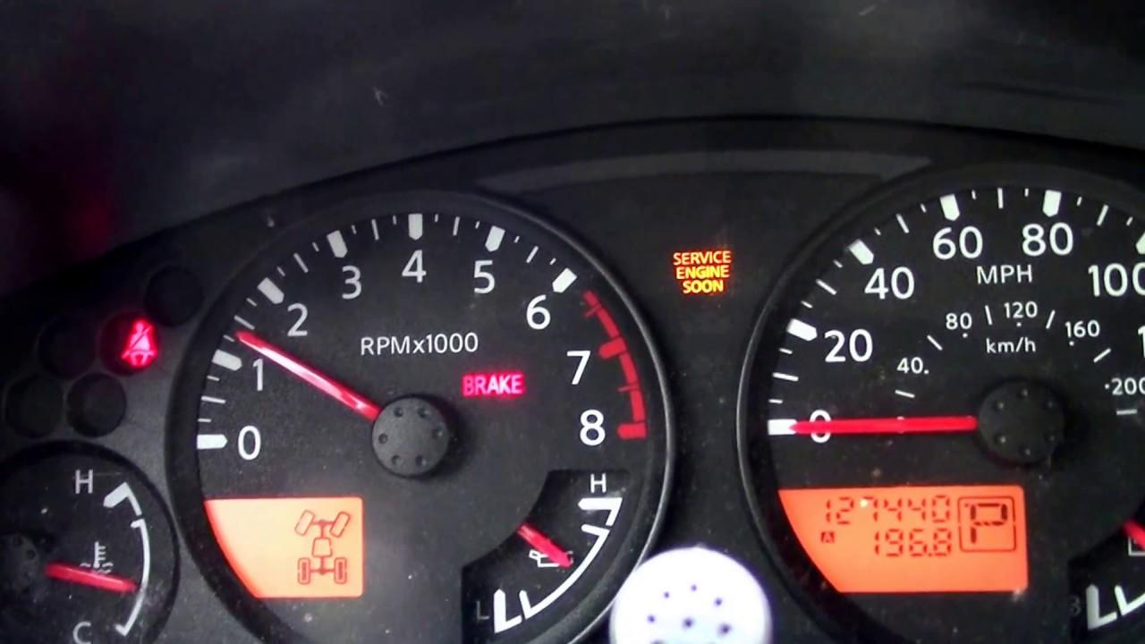 06 Nissan Xterra P0507 como hacer la adaptacion de marcha minima
