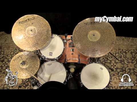 "Istanbul Agop 14"" Turk Hi Hat Cymbals - Played by Terence Clark (TH14-1041315BB)"