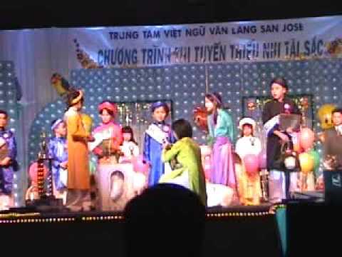 Lễ trao giải thưởng thiếu nhi tài sắc năm 2002 phần 3